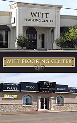Witt Flooring Center - 2 convenient locations to serve you in Amarillo and Borger.