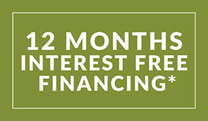 12 months interest free financing available with Home Solutions Credit at Witt Flooring Center