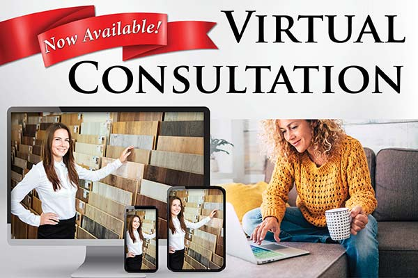 We are happy to offer virtual consultations for our customers. The most convenient way for us to bring our showroom to you! Learn more >